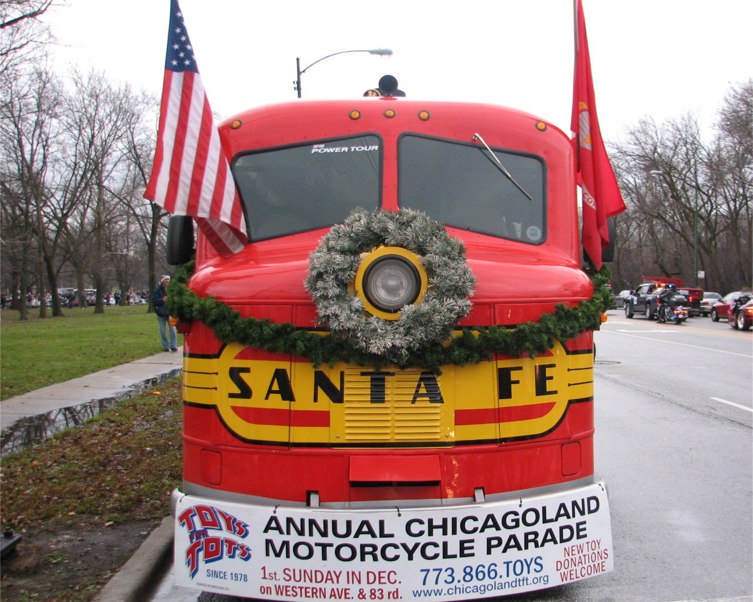 Motorcycles Presiodent Toys For Tots : Toys for tots motorcycle parade in chicago pictures